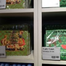 Adornos navideños en las tiendas Tiger