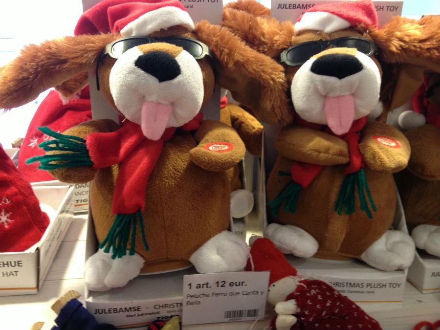 En las tiendas Tiger se pueden encontrar divertidos juguetes navideños
