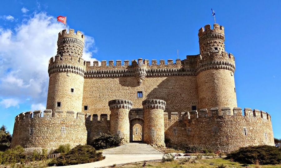 Visita al castillo de manzanares el real - Casa en manzanares el real ...