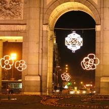 Detalle de la Puerta de Alcalá