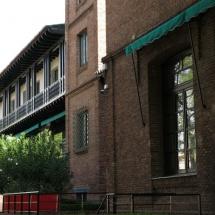 Fachada de la Residencia de Estudiantes