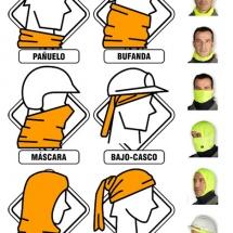 La braga es una prenda muy práctica para esquiar.