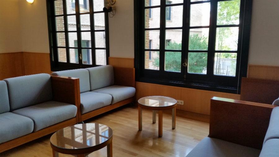 Sala de debate y tertulia de la Residencia de Estudiantes