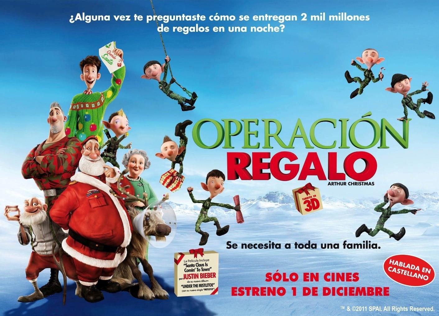 Arthur Christmas_operación regalo