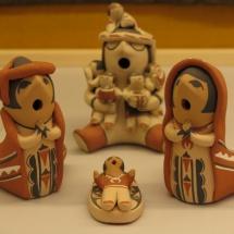 Belén andino de cerámica