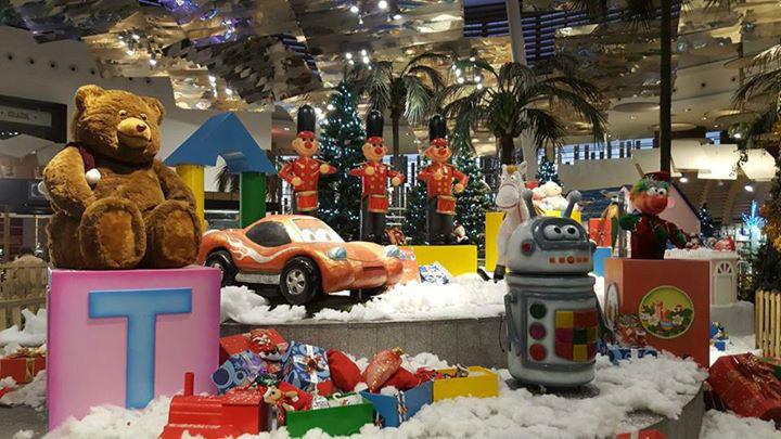 Show de juguetes en Islazul, Navidad 2015