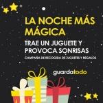 Donación de regalos para la noche de Reyes en Aragón
