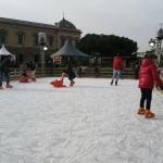 Pista de hielo de la plaza de Colón (Madrid)