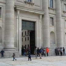 Entrada al Monasterio de El Escorial