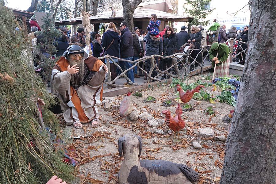 Pequeña granja en el Belén de El Escorial