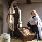 Belén de El Escorial: figuras de tamaño natural en medio del pueblo