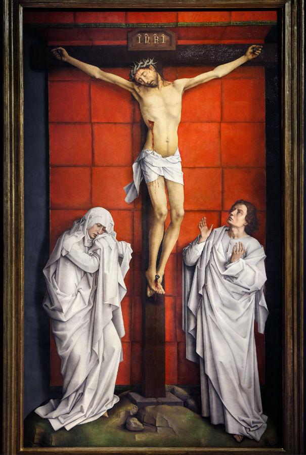 El Calvario de Van Der Weyden