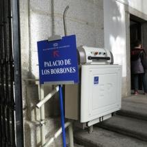 La visita a El Escorial es accesible