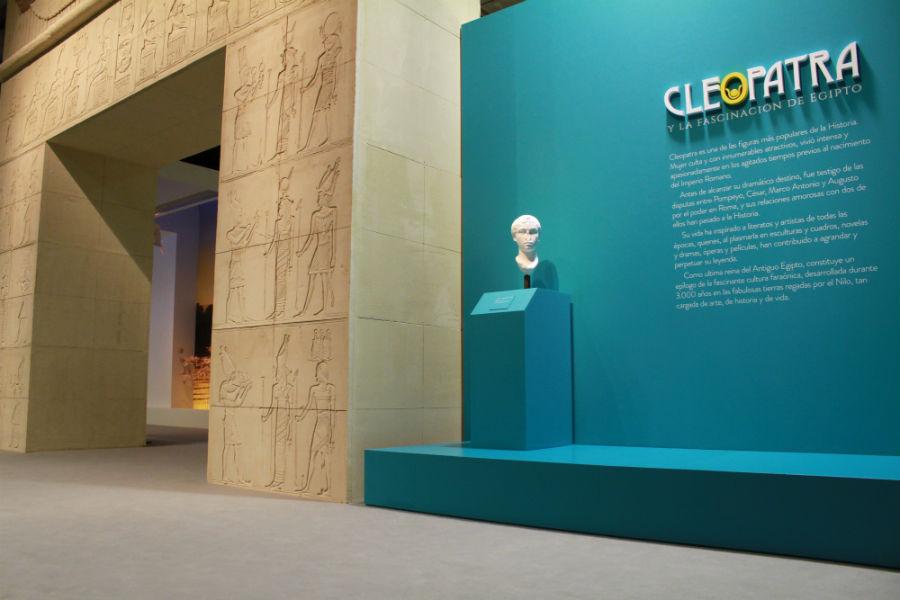 Exposición sobre Cleopatra en Madrid