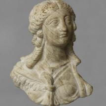 Exposición sobre Cleopatra en Madrid: busto
