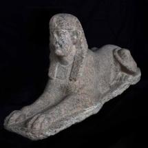 Exposición sobre Cleopatra en Madrid: esfinge