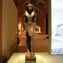 Exposición sobre Cleopatra en Madrid: estatua