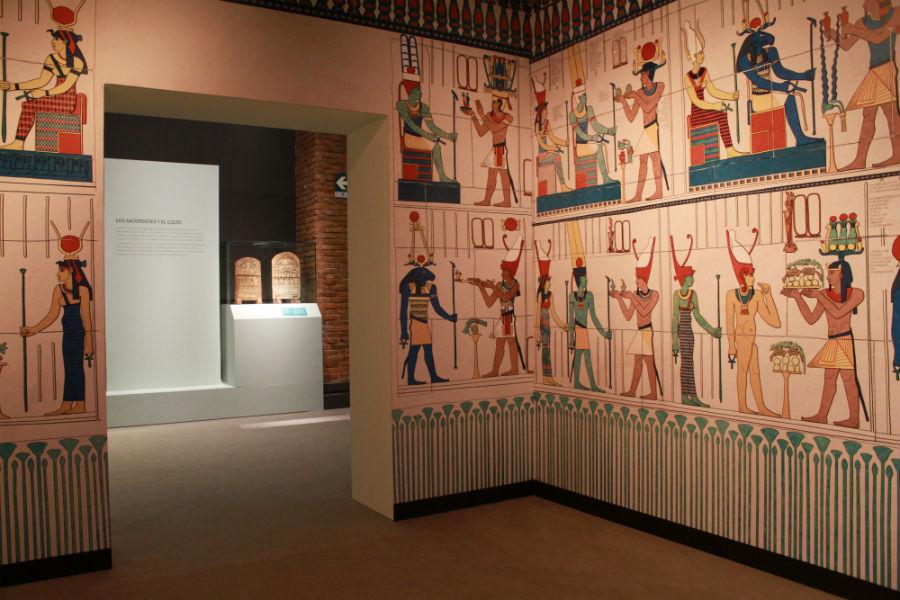 Exposición sobre Cleopatra en Madrid: jeroglífico