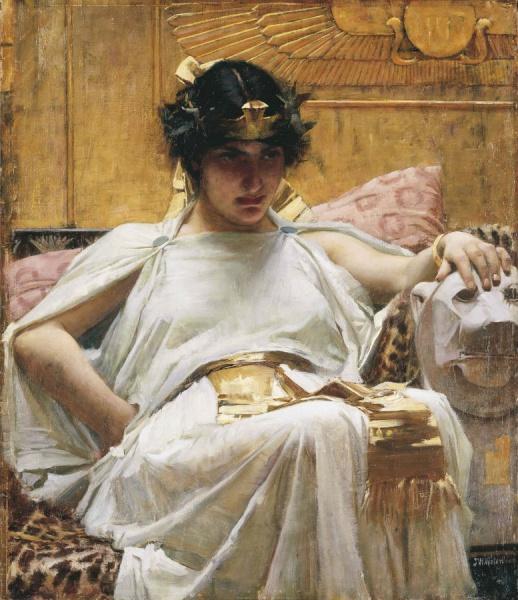 Exposición sobre Cleopatra en Madrid: pintura