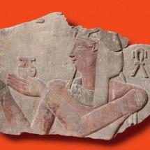 Exposición sobre Cleopatra en Madrid: relieve