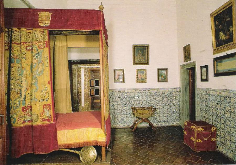 Habitación de Felipe II en El Escorial
