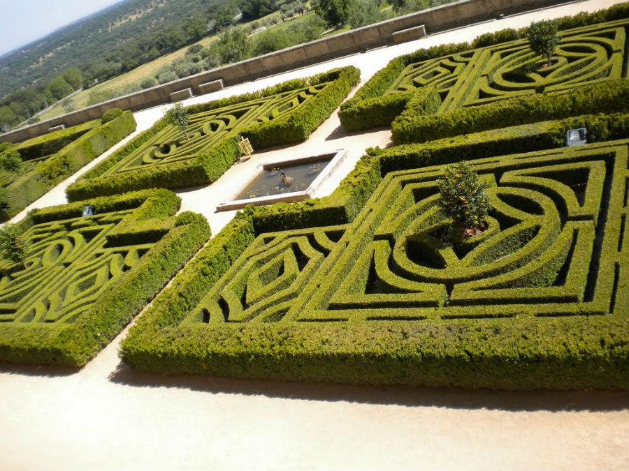 Jardín de los Frailes de El Escorial