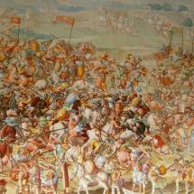 Pintura de la Sala de Batallas de El Escorial