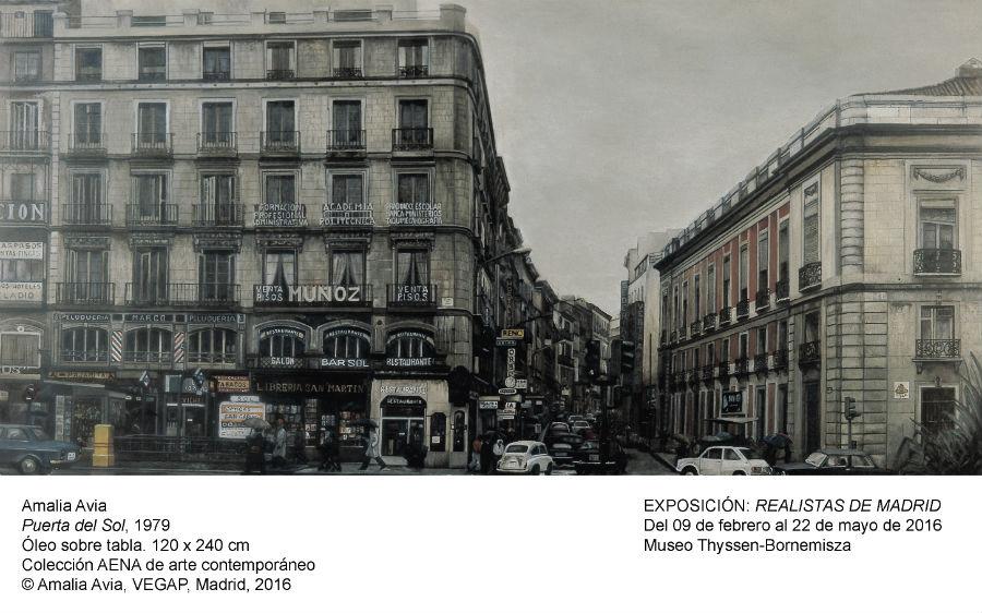 Amalia Avia: Puerta del Sol