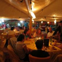 Cena en la jaima restaurante