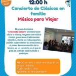 'Música para Viajar', concierto para familias en Madrid