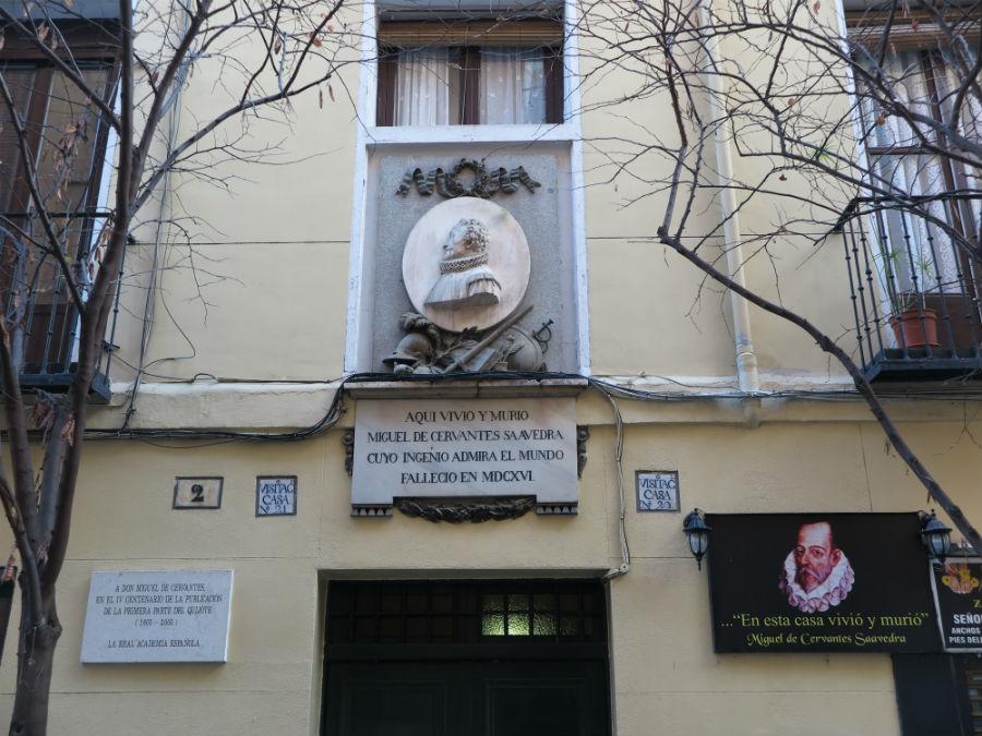 Casa Cervantes calle del León