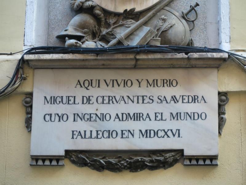 Casa de Cervantes en la calle León
