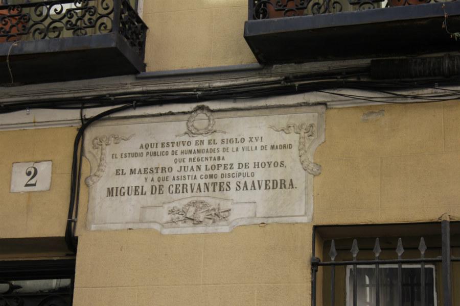 Ruta de Cervantes en Madrid: Estudio Público de Humanidades