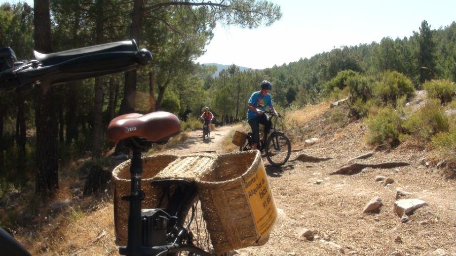 Excursión en burricleta por la Sierra de Madrid