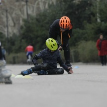 Aprender a caerse es fundamental para aprender a patinar