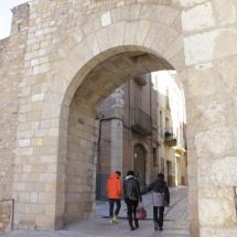 Entrada de la muralla de Montblanc