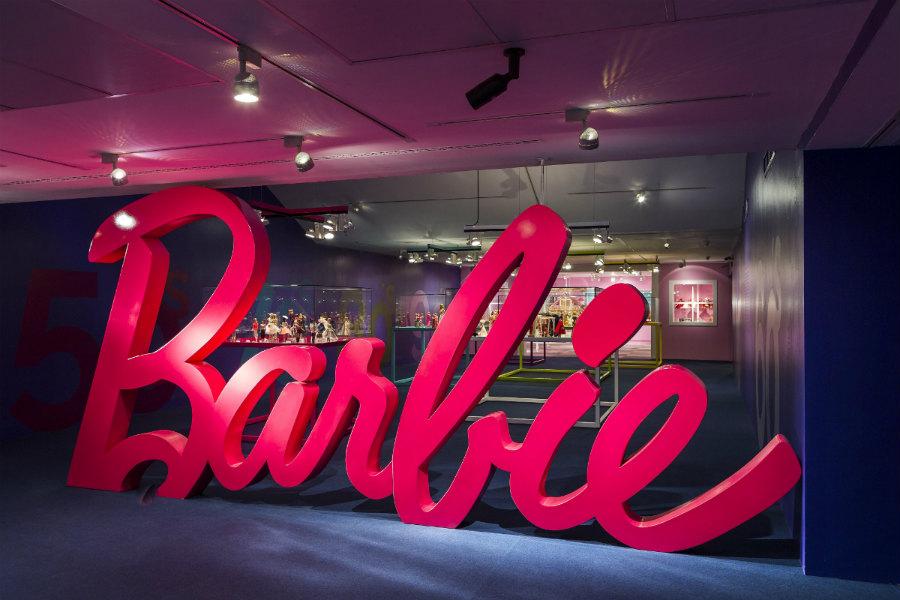 Exposición sobre Barbie