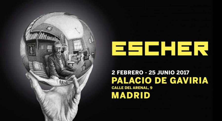 Exposición sobre Escher