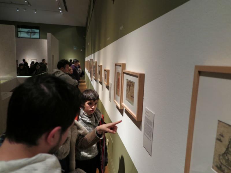 Exposición de Cervantes