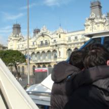 Un paseo en golondrina por el puerto de Barcelona