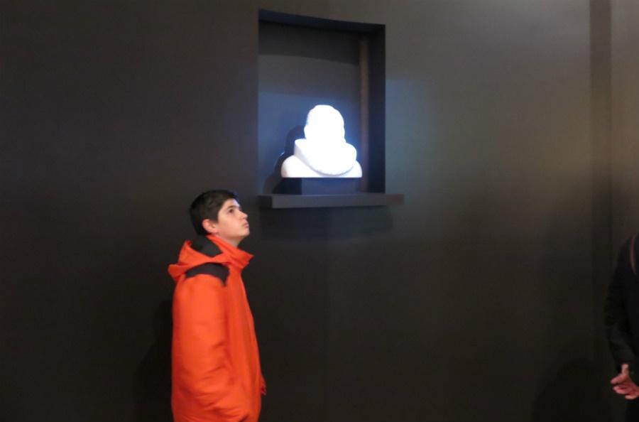 Holograma de Cervantes