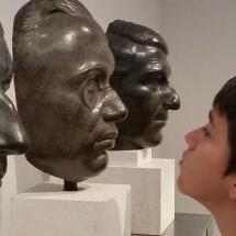 Las máscaras de Gargallo son un gran atractivo de este museo