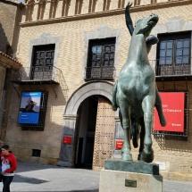 Visita en familia al Museo Gargallo, en Zaragoza