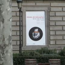Poster exposición Cervantes