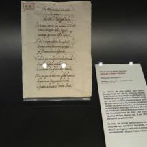Primer texto literiario de Cervantes
