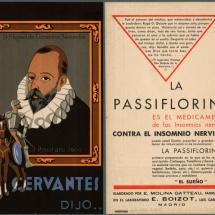 Producto tranquilizante marca Cervantes