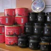 Productos de la cereza del Valle del Jerte