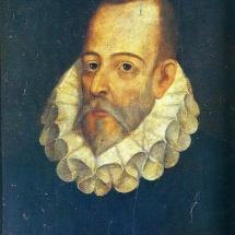 Retrato de Cervantes de Juan de Jáuregui