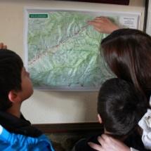 Mapa de rutas por el Valle del Jerte