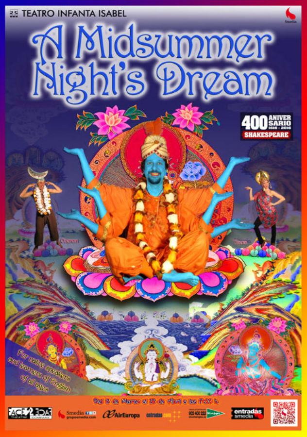 El sueño de una noche de verano, en inglés, para niños